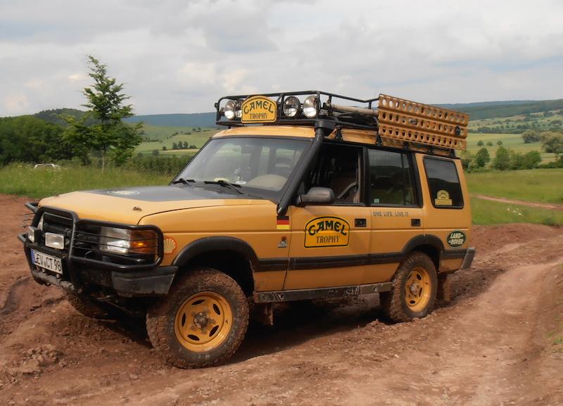 Camel Trophy Edition Discovery Matsch Amp Piste Fahrzeuge