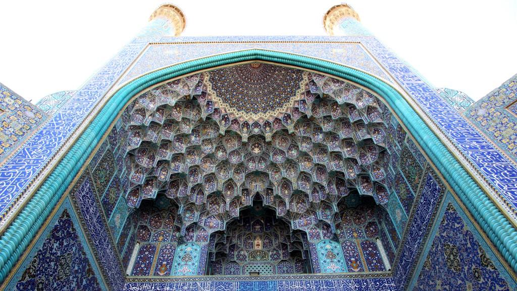 Die Freitagsmoschee in Esfahan gilt als größte Moschee im Iran
