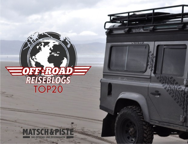 Top 20 Offroad-Reiseblogs