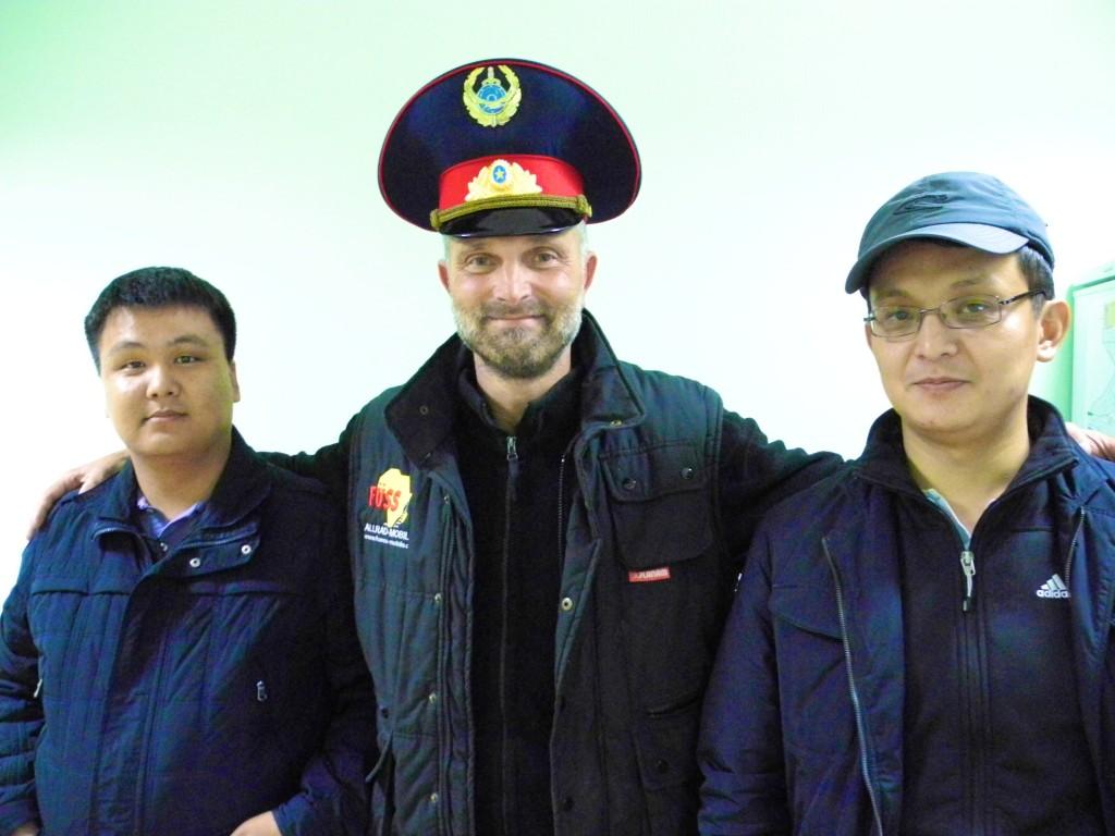 Erlebnis - Visumverlängerung auf der Imigrationsbehörde von Aktau. Kasachstan, Aktau