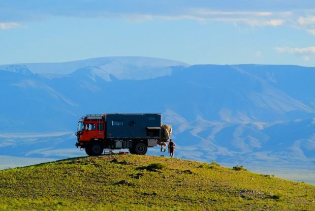 Ede und Sten unterwegs mit ihrem Expeditionsmobil