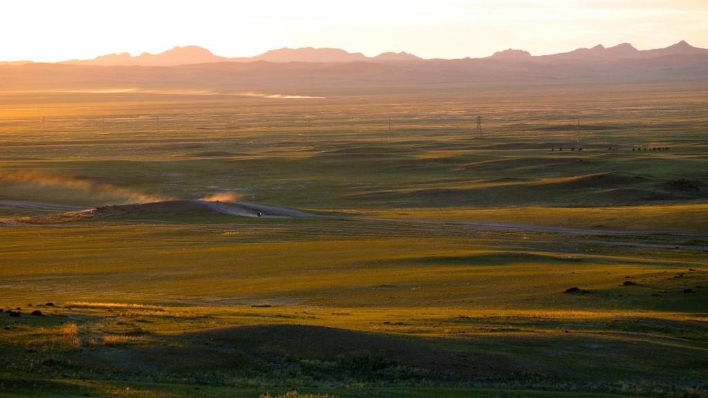 Endlose Steppen und hunderte Kilometer Pisten, Westmongolei