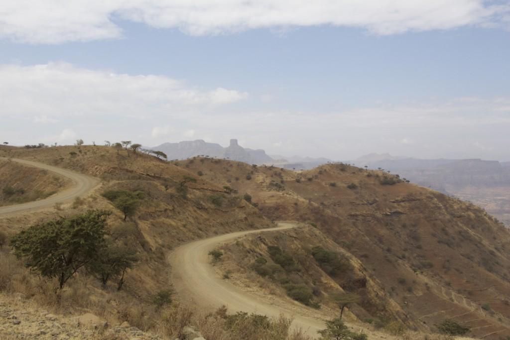 Straße von Adigrat nach Lalibela, Äthiopien