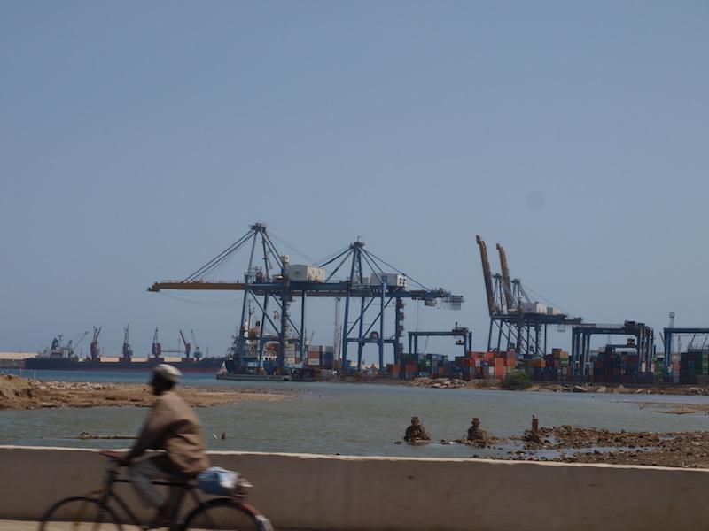 Port Sudan, Blick Richtung Haupthafen