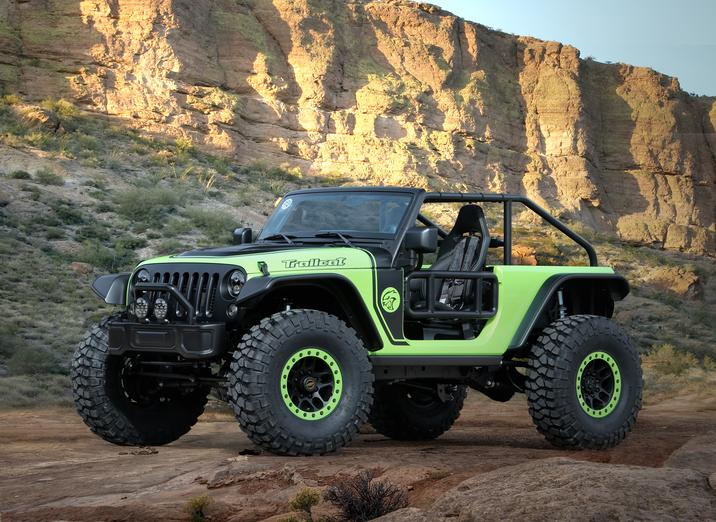 Jeep Konzept 2016: Trailcat
