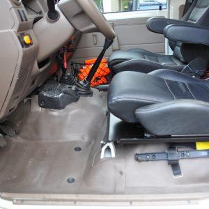 re - Rallye - und Expeditionsservice - Toyota HZJ Sitzkonsole