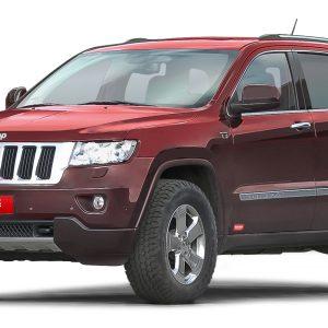 Trekfinder Höherlegung für den Jeep Cherokee WK