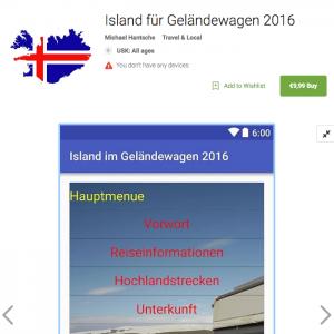 Island-App Titel