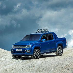 Amarok Aventura im aktuellem Volkswagen Design: Als erstes steht das leistungsstärkste 165-kW-Aggregat ab Ende September 2016 zur Verfügung.