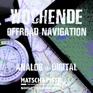 Wochenend-Workshop Offroad-Navigation Digital und Karte Kompass