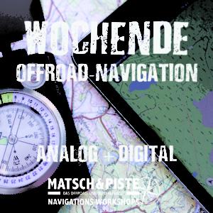 Wochenend-Workshop Offroad-Navigation Digital und Karte Kompass