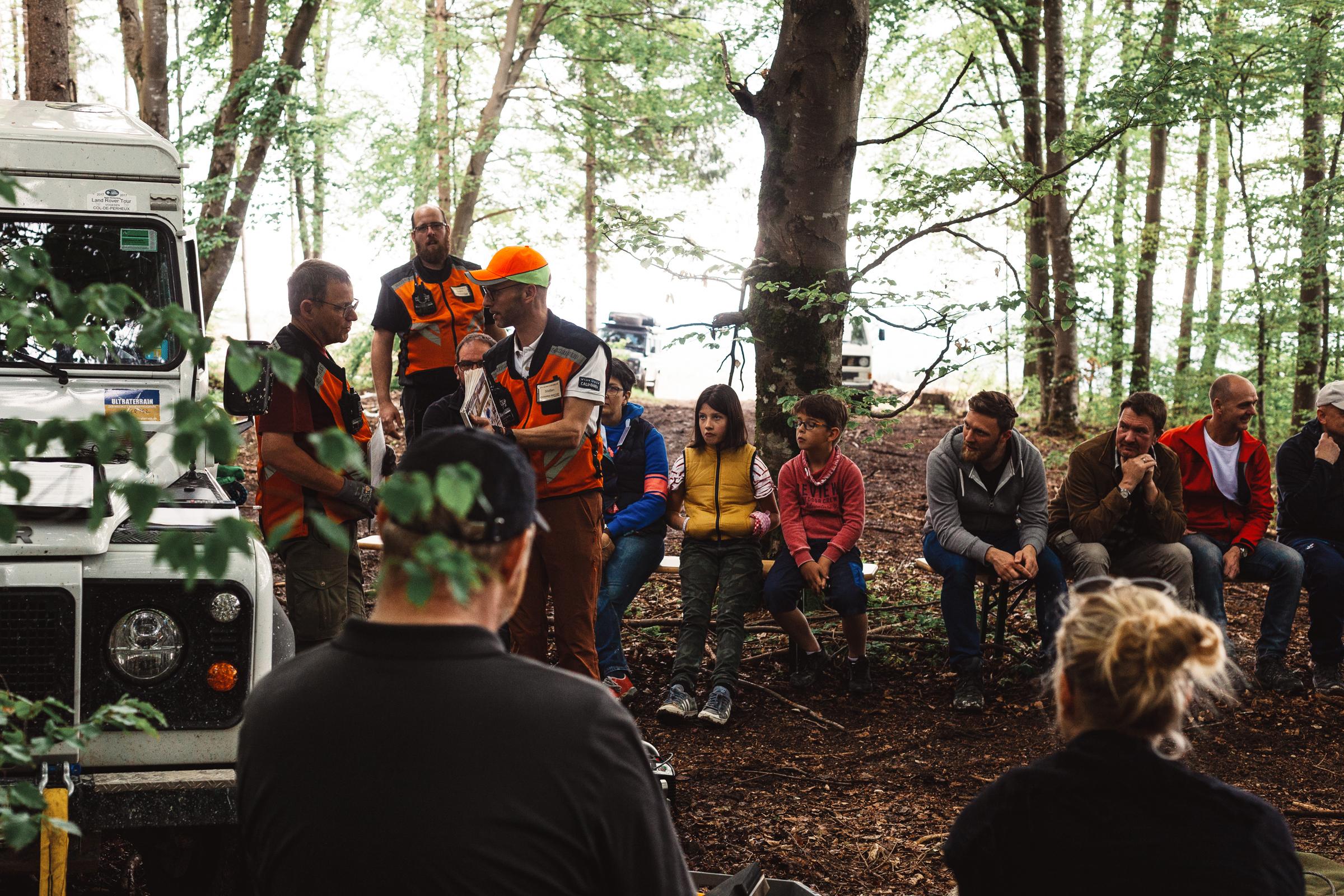 Kurs zum Thema Bergematerial