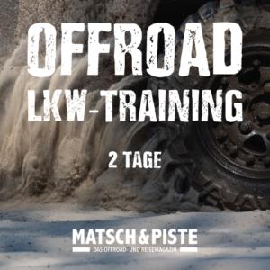 LKW-Offroad-Training, Offroad-Training für LKW