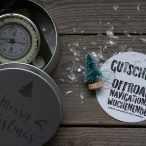 Wochenend-Workshop Offroad-Navigation Geschenkbox