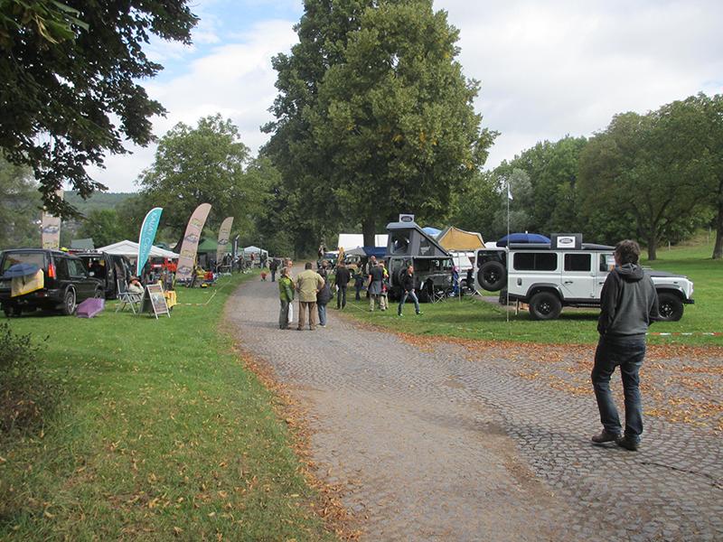 Mammutpark Landyfestival 2014 Messebereich