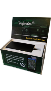 Der Defender Tracker.