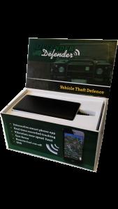 Der Defender Tracker.