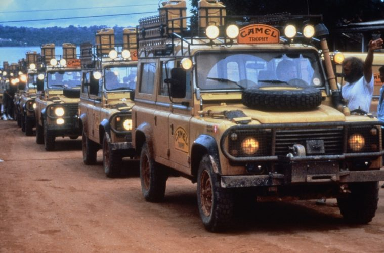 Camel Trophy Line Up