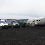 Drei Bullis auf Island-Tour