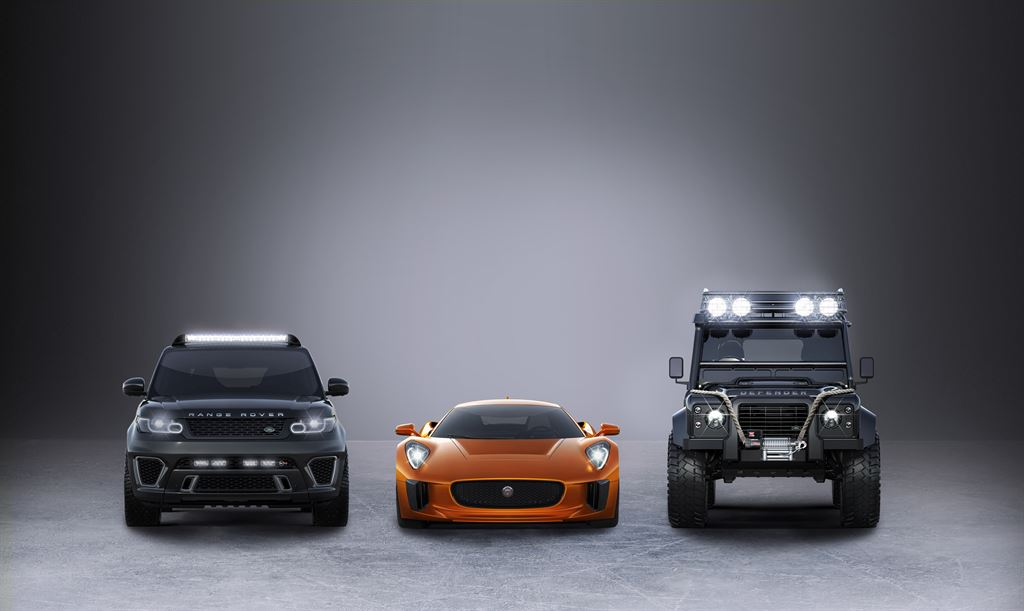 Land Rover James Bond Film Spectre