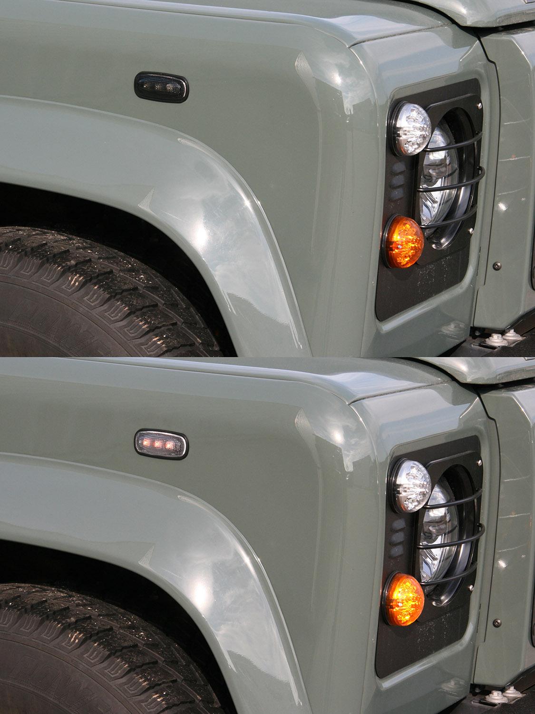 LED-Kotflügelblinker für den Defender