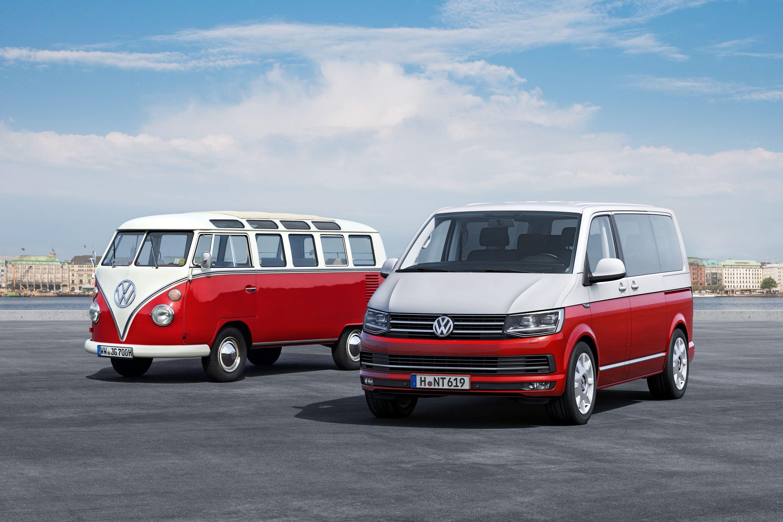 VW-Bus T1 und T6