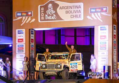 Start-Argentinien