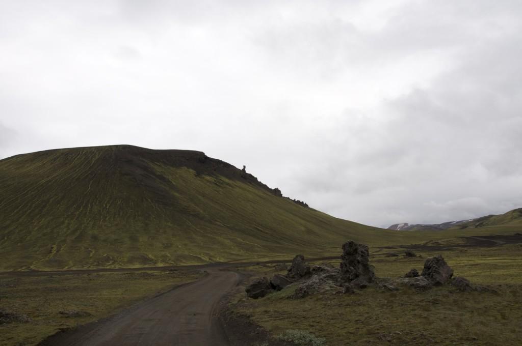 Piste auf Island
