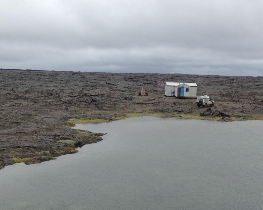 Wanderhütte des Ferðafélag Akureyrar in Botni, Island