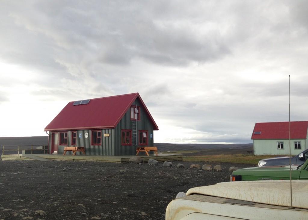 Wanderhütte des Ferðafélag Akureyrar in Laugafell, Island