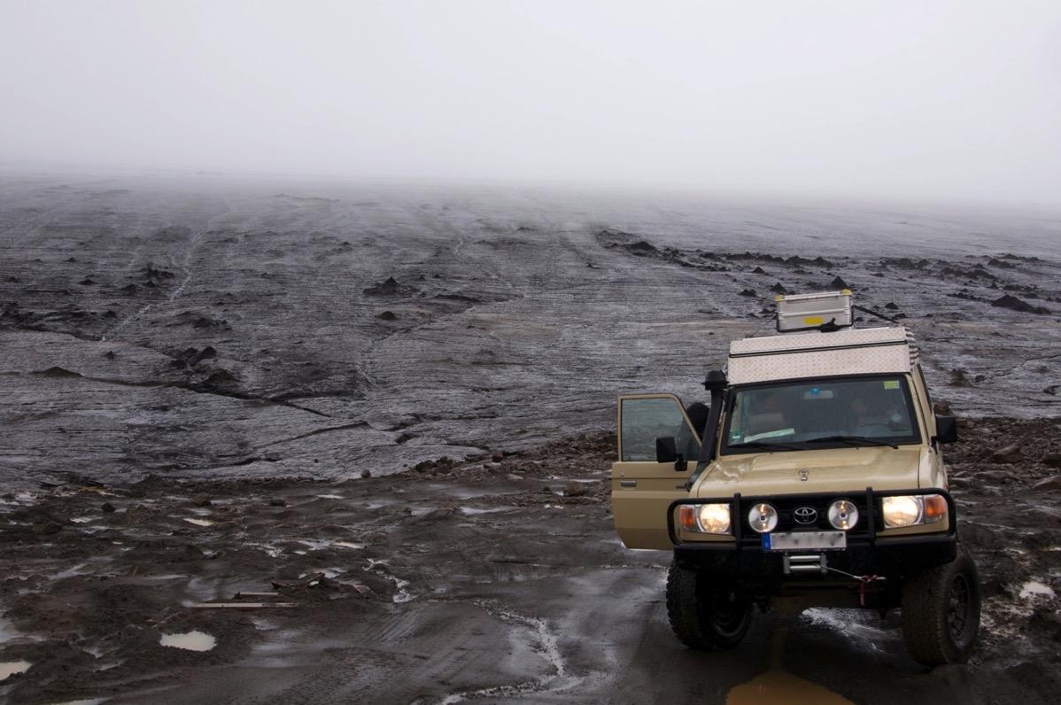 Toyota Land Cruiser auf Island