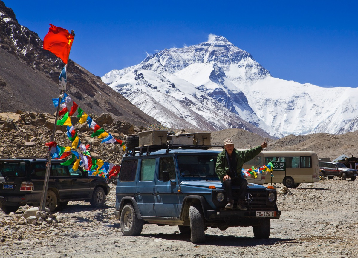 Mt Everest tibetanischeSeite FotoHoltorf