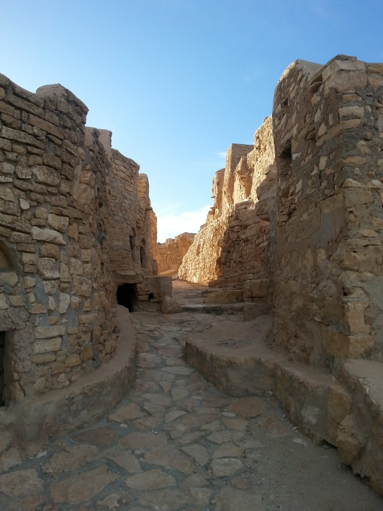 Weg, Chenini, Tunesien