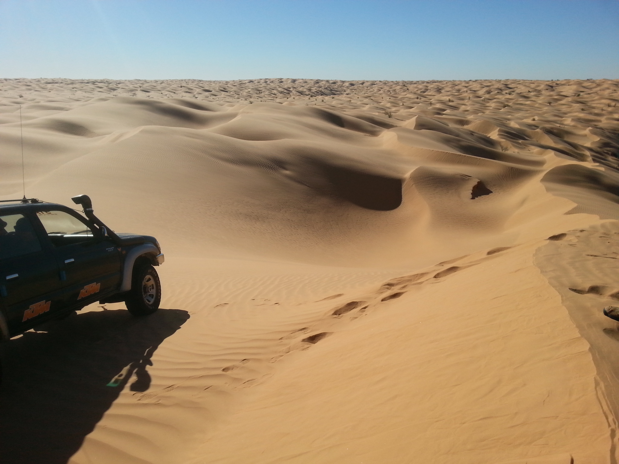 Sandmeer Sahara, Tunesien
