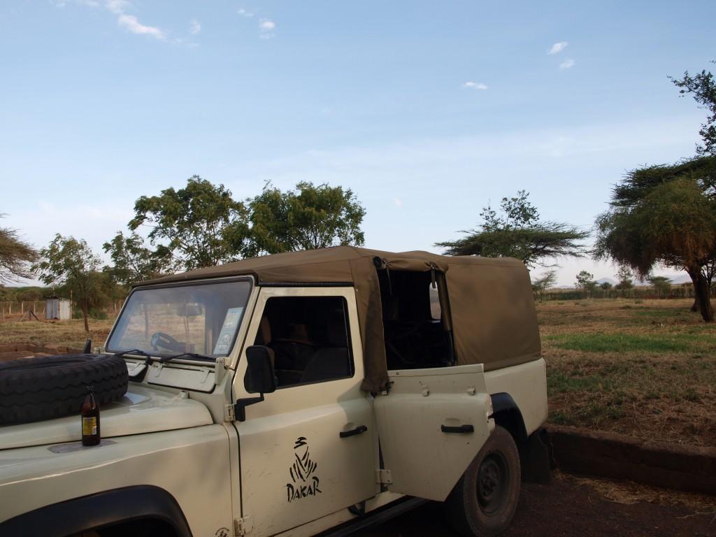 Unser Camp am Mount Kenia