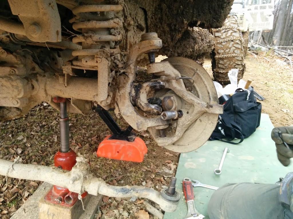 Jeep Wrangler Offroad Reparatur Workshop