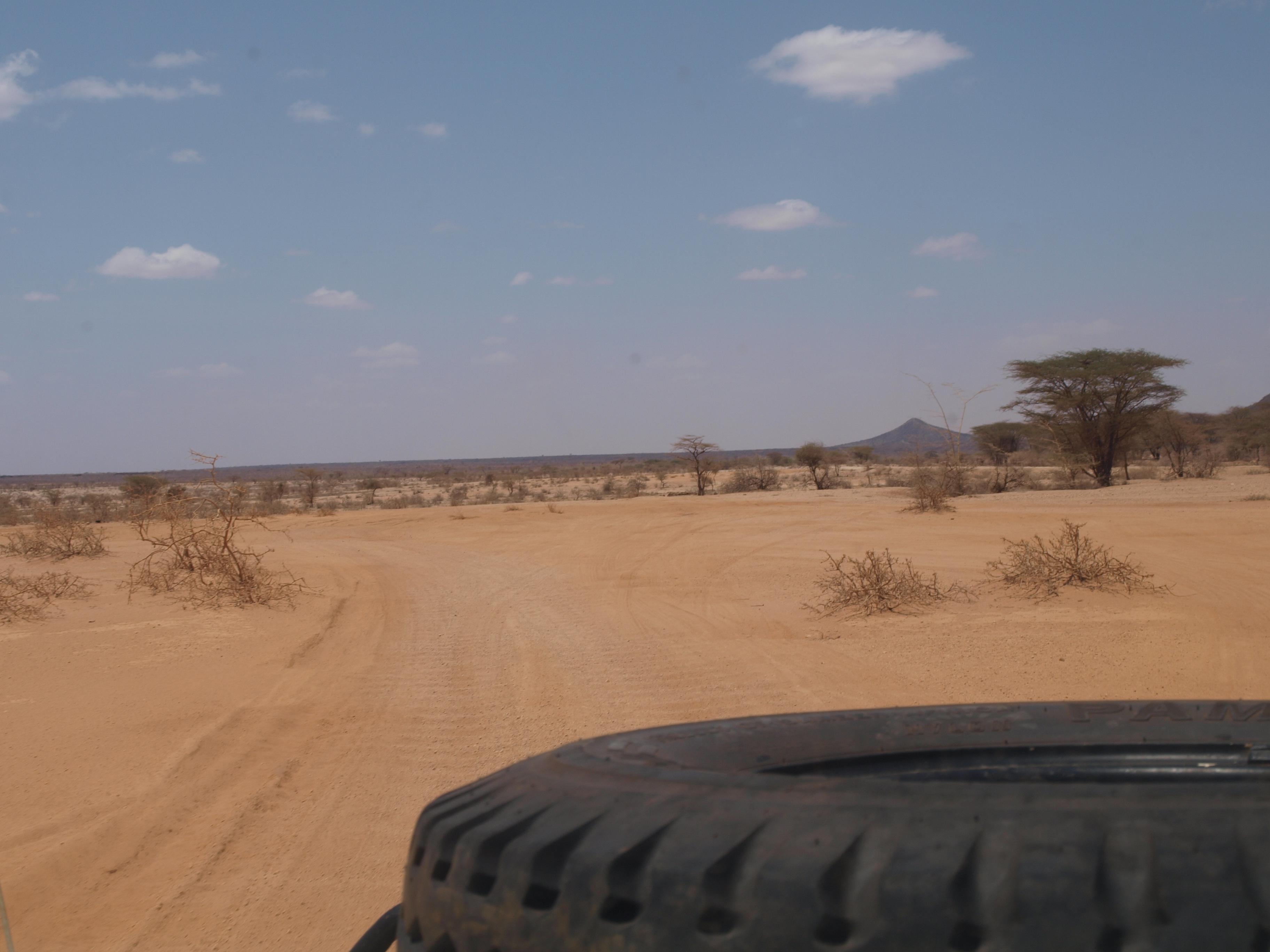 Richtung Moyale Kenia