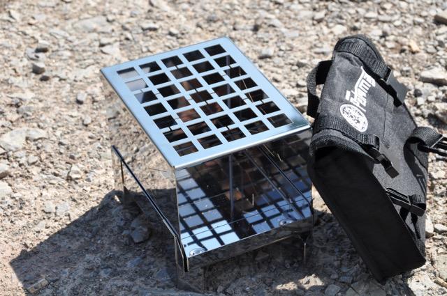 Petromax Feuerbox und Rip-Stopp Tasche