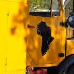 Afrika und Laterne