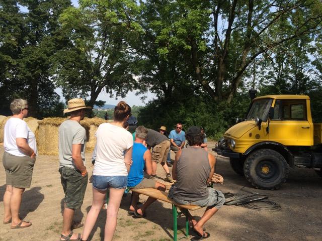 Kurs: Richtig winchen mit Jeroen vom Mammut-Park