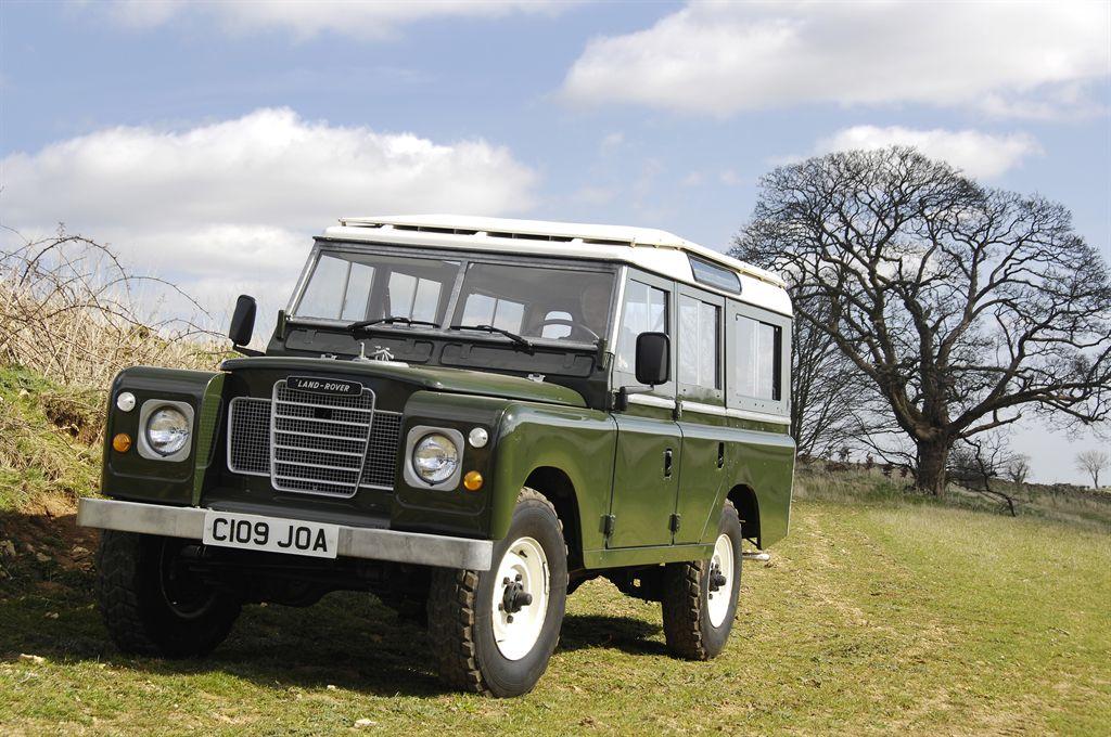 Land Rover Heritage, klassischer Land Rover Serie III