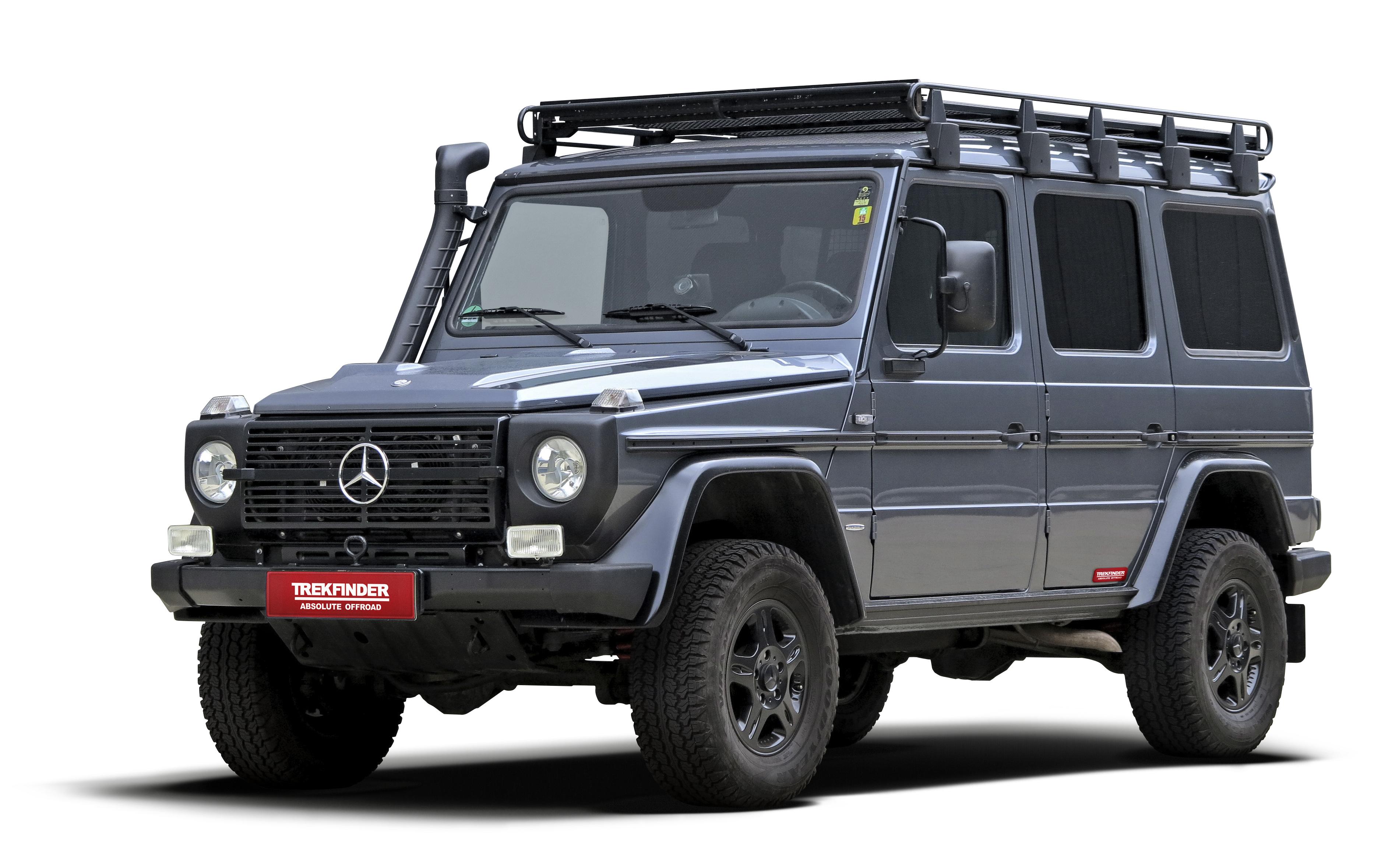 Mercedes G Höherlegungssatz Trekfinder