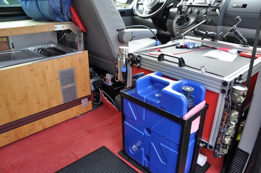 Box Beifahrersitz
