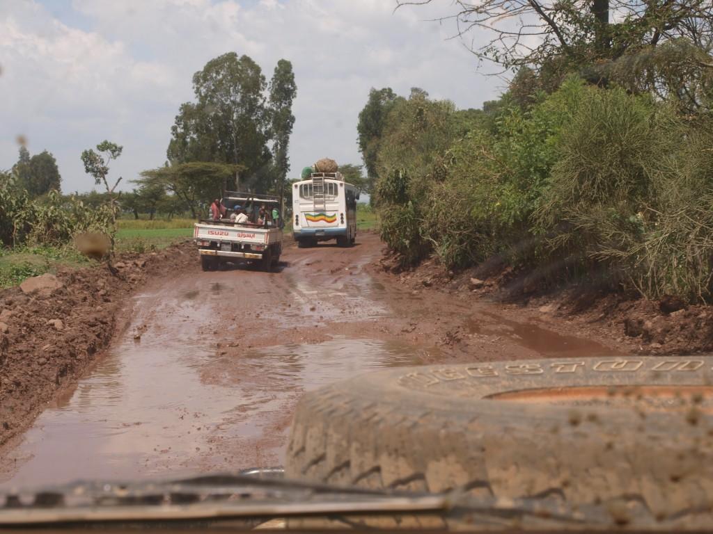 Hauptstraße nach Addis Abbeba