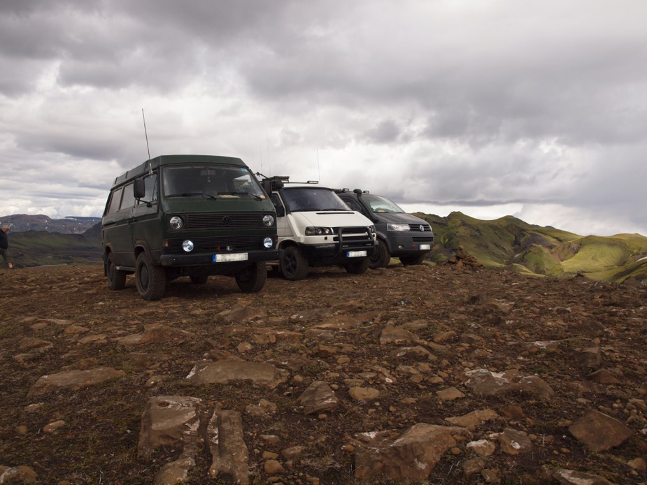 VW Busse auf Island