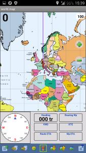 Offroad-Navigation mit Android - OziExplorer Kompassansicht