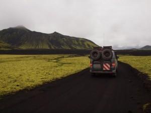 VW Rockton auf Island