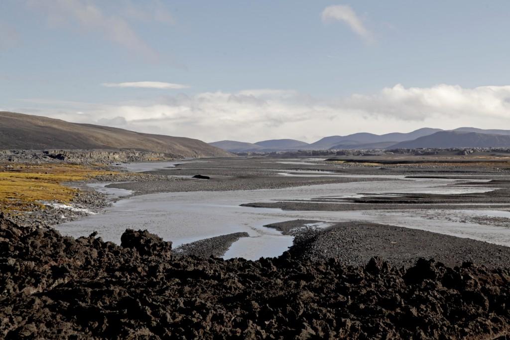Herbst auf Island - Holuhraun-Lavafeld