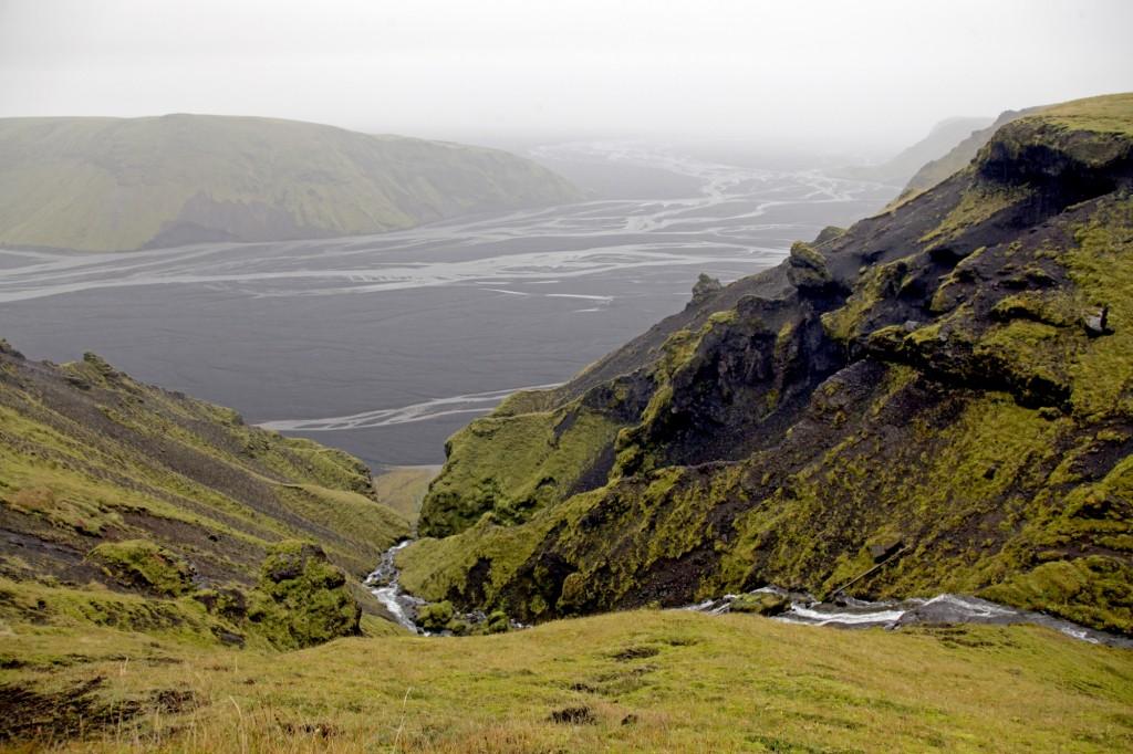 Blick nach Süden vom Múlakvísel