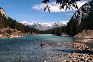 Bow River Panorama, Kanada